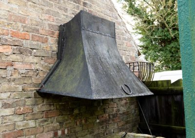 2 Old BBQ hood poss move to Tack Room