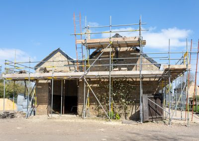 Barn C gable end